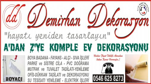Ankara Boya Badana Firmaları